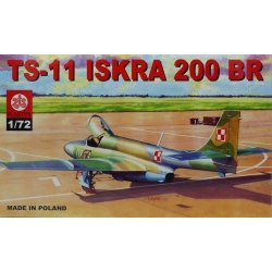 ZTS PLASTYK S017 1/72 TS-11 Iskra 200 BR