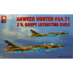 ZTS PLASTYK S025 1/72 Hawker Hunter FGA.71 Chilean Z 9 Air Group