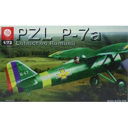 ZTS PLASTYK S045 1/72 PZL P-7a Romanian Version