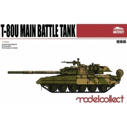 Modelcollect UA72027 1/72 Russian T-80U Main Battle Tank