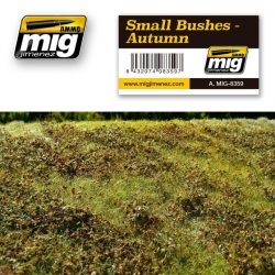 AMMO OF MIG A.MIG-8359 Tapis Automne - Small Bushes Autumn