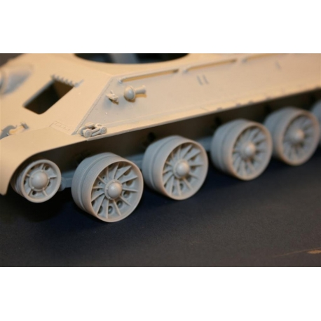 """PANZE ART RE35-087 1/35 Burn out Late """"Spider"""" Wheels for T-34/T-54 Tanks"""