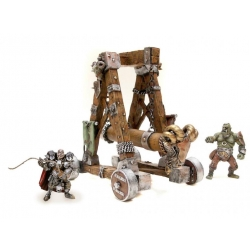 Plastoy 59004 Les Machines De Guerre La catapulte + 2 Fig