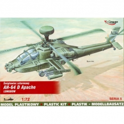MIRAGE HOBBY 72054 1/72 AH-64 D Apache Longbow