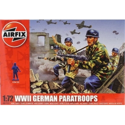 AIRFIX A01753 1/72 WWII German Paratroops*