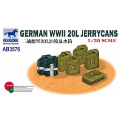 BRONCO AB3576 1/35 German World War 2 20ltr jerry cans