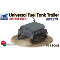 BRONCO AB3579 1/35 Universal Fuel Tank Trailer