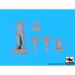 BRONCO CB35057 1/35 German 2cm Flakvierling 38 w/Sd.Ah.52 Carriage Trailer