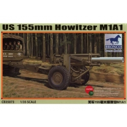 BRONCO CB35073 1/35 US 155mm Howitzer M1A1