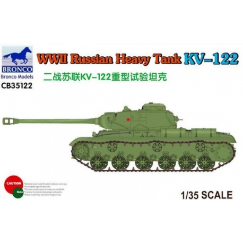 BRONCO CB35122 1/35 WWII Russian Heavy Tank KV-122