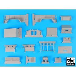 BRONCO AB3512 1/35 British 25prd Ammo Box (for Staghound APC)