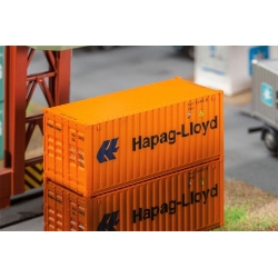 Faller 180826 HO 1/87 20' Container Hapag-Lloyd