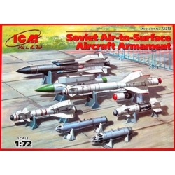 ICM 72213 1/72 Soviet Air-to-Surface Aircraft armament