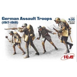 ICM 35291 1/35 German Assault Troops (1917-18)