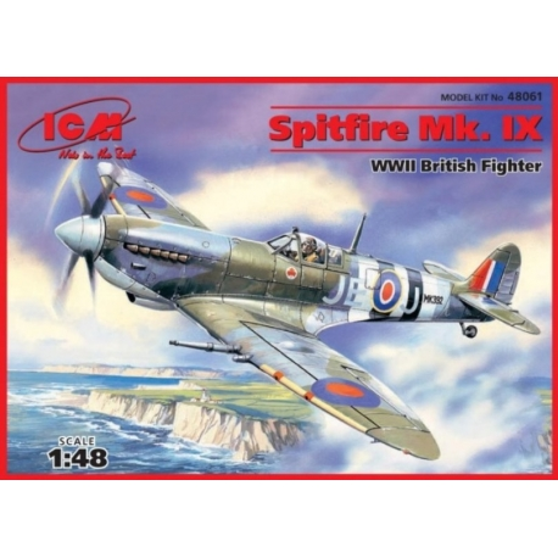 ICM 48061 1/48 Spitfire Mk. IX WWII British fighter