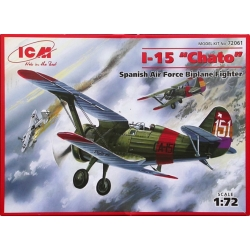 ICM 72061 1/72 I-15 Chato Spanish Air Force Biplane Fighter