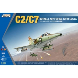 Kinetic KIN48046 1/48 C2/C7 ISRAELI AIR FORCE KFIR C2/C7
