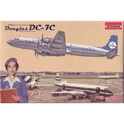 RODEN 302 1/144 Douglas DC-7C KLM Royal Dutch Airlines