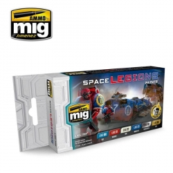 AMMO OF MIG A.MIG-7153 Space Legions Paints 6x17ml