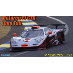 Fujimi RS-45 125817 1/24 McLaren F1 GTR Long Tail Le Mans 1997 n°41