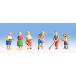 Preiser 10258 Figurines HO 1/87 Filles – Girls