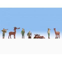 Preiser 14011 Figurines HO 1/87 Personnel de Quai – Railway Personnel DB