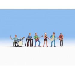 Preiser 17711 Figurines HO 1/87 Platform truck
