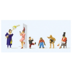 Preiser 20265 Figurines HO 1/87 Artistes de Cirque – Circus artists