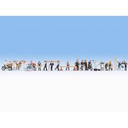 Faller 130346 HO 1/87 Pompes à carburant couvertes - Covered petrol pumps