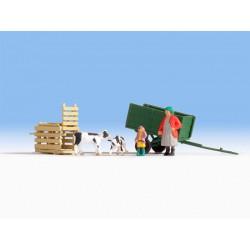 Faller 130470 HO 1/87 Vieille mine de charbon - Old coal mine