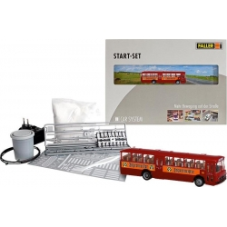 Faller 161498 HO 1/87 Kit de démarrage Car System MB O317k Bus Jägermeister