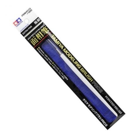 TAMIYA 87173 Pinceau Modeling Pointed Brush PRO II - Extra Fine