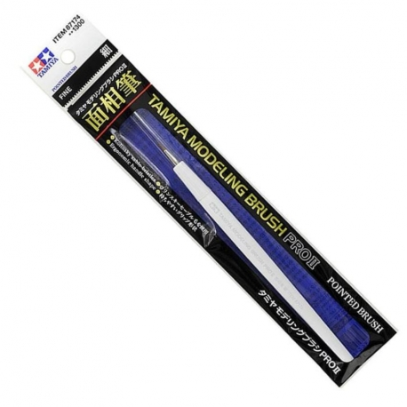 TAMIYA 87174 Pinceau Modeling Pointed Brush PRO II – Fine