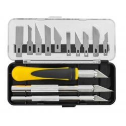 ModelCraft PKN3305/S Couteau De Précision Set - Precision Craft Knife Set 16pcs