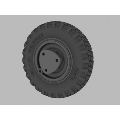 PANZER ART RE35-381 1/35 Sd.Kfz 221/222 Road Wheels (Early pattern)