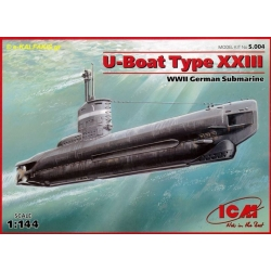 ICM S.004 1/144 U-Boot Type XXIII WWII German Submarine