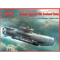 ICM S.007 1/72 U-Boot Typ XXVIIB Seehund Late Version