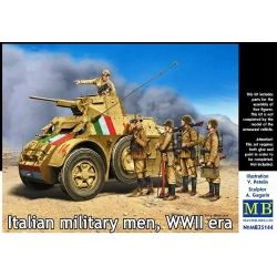 MasterBox MB35144 1/35 Italian Military men WWII era