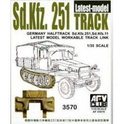 AFV Club AF35070 1/35 German Halftrack Sd.Kfz. 251, Sd.Kfz. 11 Workable Track