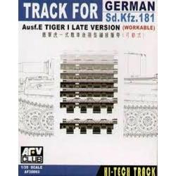 AFV Club AF35093 1/35 Workable Track for Tiger I Ausf. E Late Version