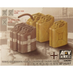 AFV Club AF35257 1/35 German Fuel/Water Tank Set