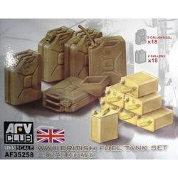 AFV Club AF35258 1/35 WWII British Fuel Tank Set