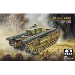 AFV Club AF35259 1/35 Churchill AVRE With Snake Launcher