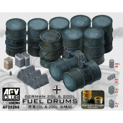 AFV Club AF35266 1/35 German 20L and 200L Fuel Drums