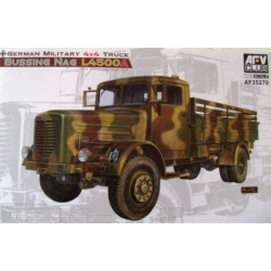 AFV Club AF35270 1/35 German Military 4x4 Truck Bussing NAG L4500A