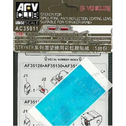 AFV Club AFAC35011 1/35 Sticker for simulating Anti Reflection Coating Lens