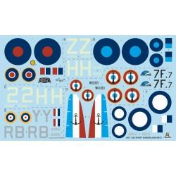 AFV Club AFAG35020 1/35 Rivet For British Tank Version A For Churchill Tank Mk1-Mk3