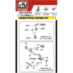 AFV Club AFAC35006 1/35 German Optical Equipment Set