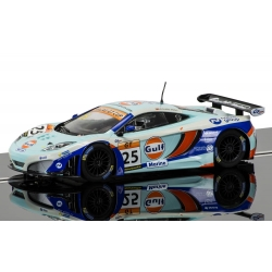 SCALEXTRIC C3716 McLaren 12C GT3 Gulf Collection Series