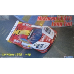 Fujimi 125947 RS-59 1/24 McLaren F1 GTR Long Tail Le Mans 1998 40